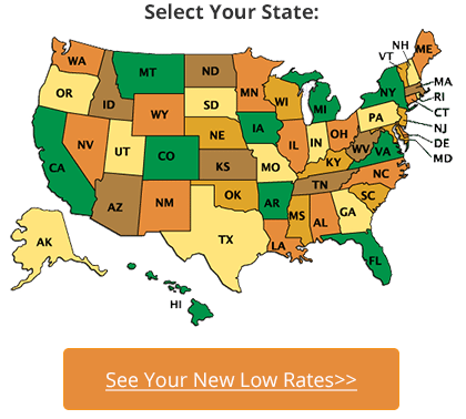 Select Your State For Lower Rates