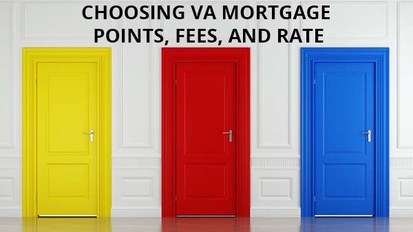 VA mortgage points and rate