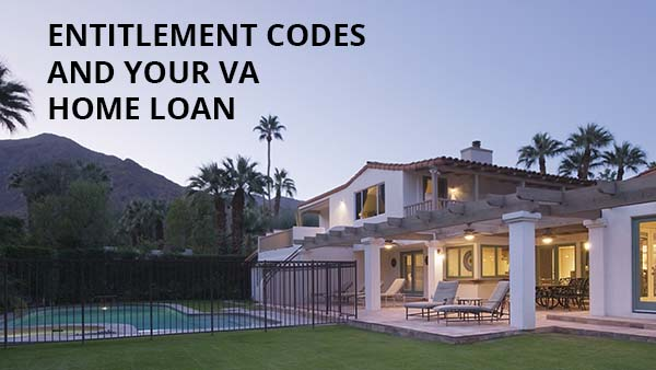 VA HOME LOAN ENTITLEMENT CODES